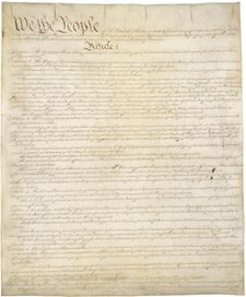 Page       I of the Constitution of the United States of America