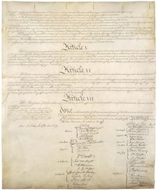 Page       IV of the United States Constitution